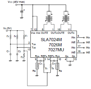 Sla7024m |sanken Electric