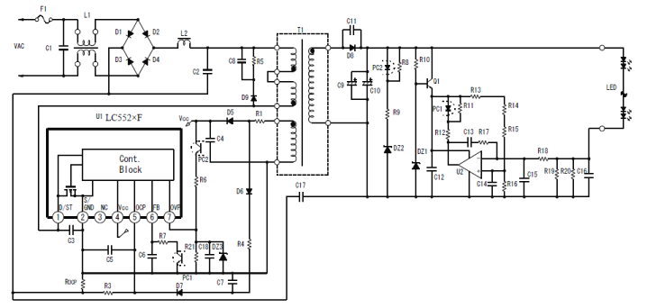 lc5525f  uff5csanken electric