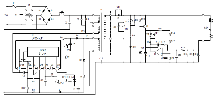 lc5547lf  uff5csanken electric