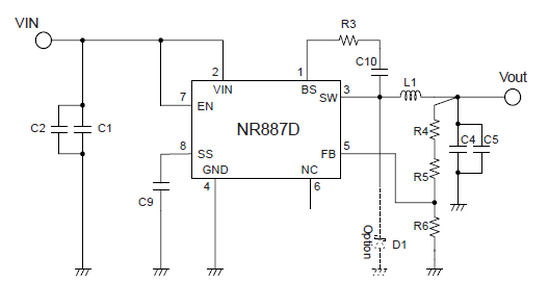 nr887d  uff5csanken electric