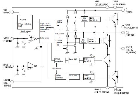 hid 镇流器用转换器元件