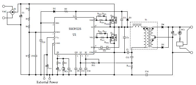 Ssc9522s |sanken Electric