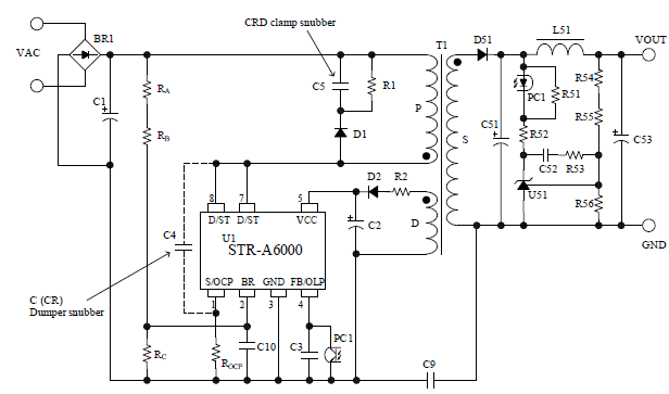circuit diagram of internal led lighting