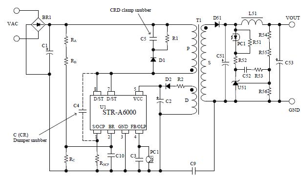 Str A6053m Sanken Electric