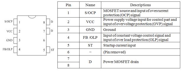 Dc To Ac Converter >> STR-A6153E  Sanken Electric