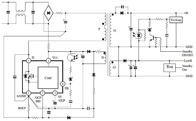 STRW6756    Sanken Electric