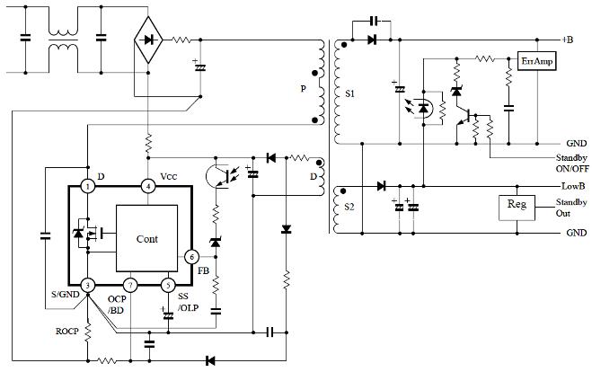 Str W6765 Sanken Electric