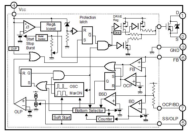 Str X6757  sanken Electric