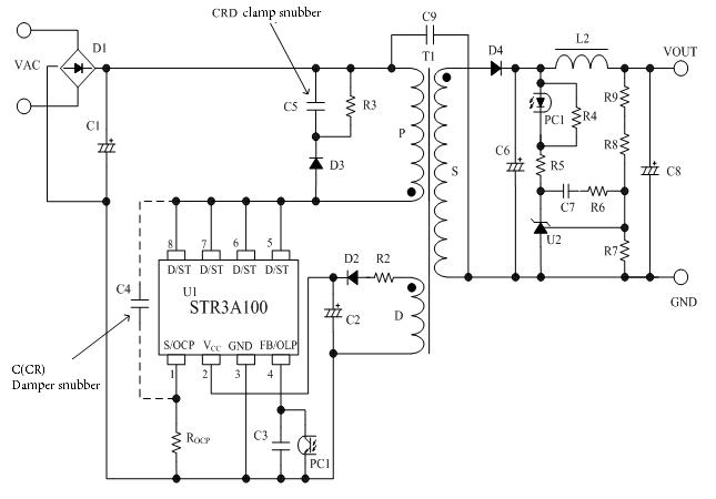 Str3a151d Sanken Electric