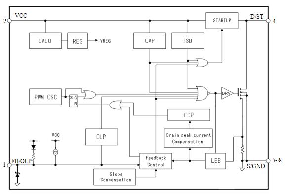str63o7电路图